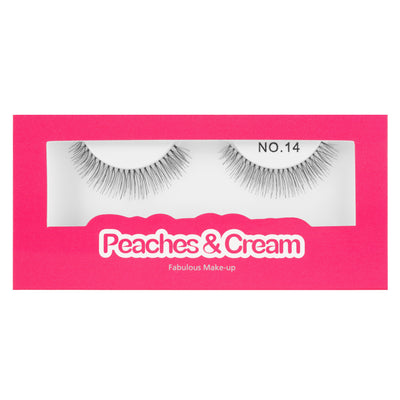 Peaches and Cream Lashes - Style No. 14