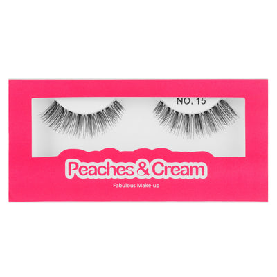 Peaches and Cream Lashes - Style No. 15