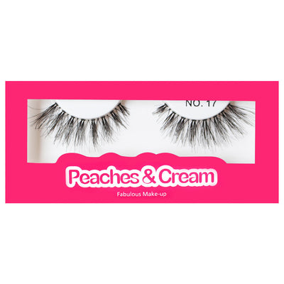 Peaches and Cream Lashes - Style No. 17