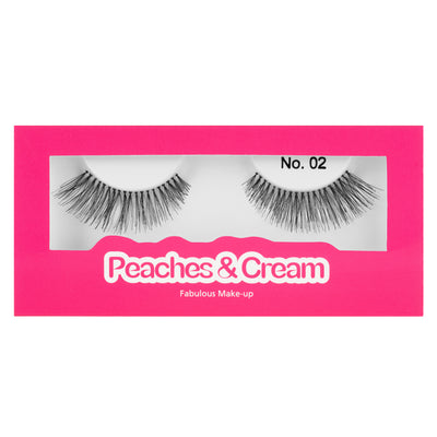 Peaches and Cream Lashes - Style No. 2