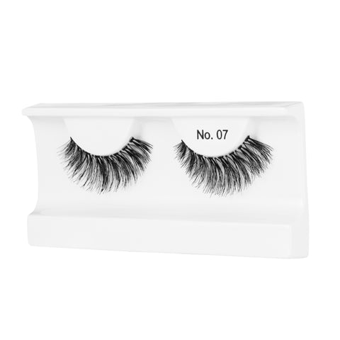 Peaches and Cream Lashes - Style No. 7 (Angled Tray Shot)