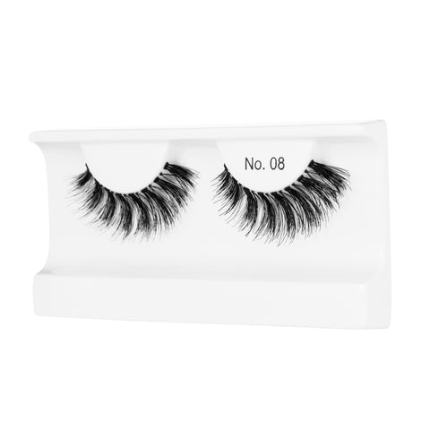 Peaches and Cream Lashes - Style No. 8 (Angled Tray Shot)
