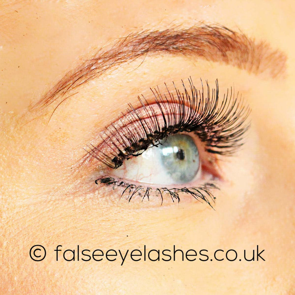 Peaches and Cream Lashes - Style No. 2 - Model Shot 2