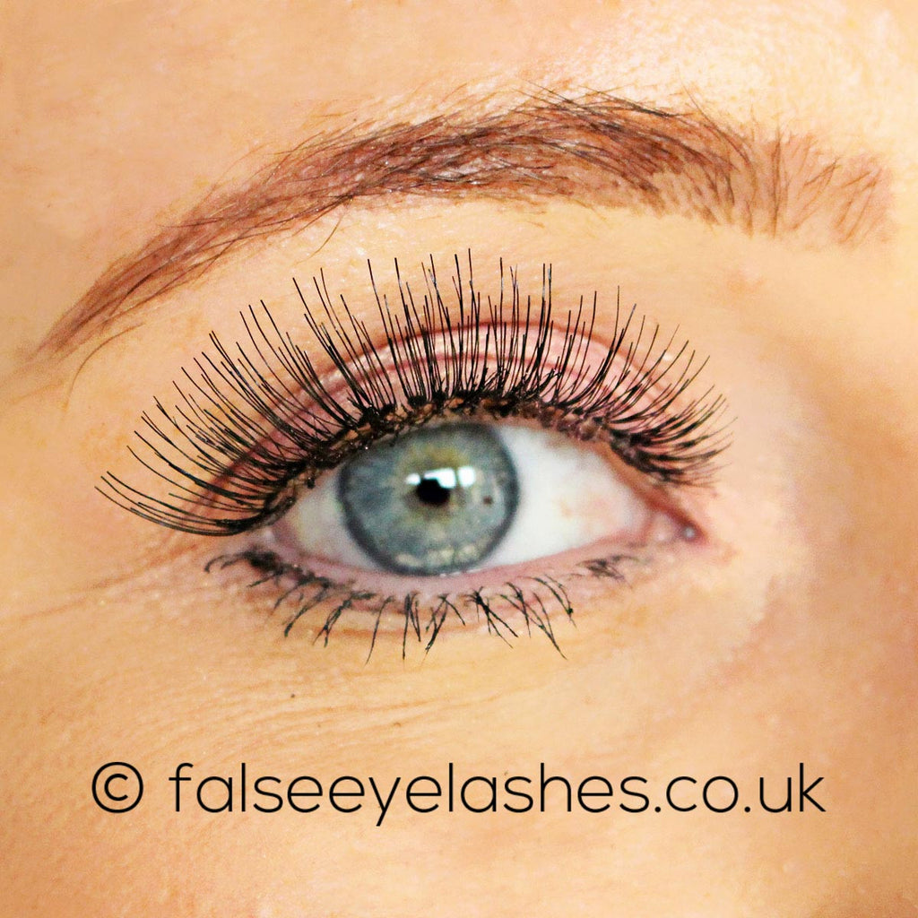 Peaches and Cream Lashes - Style No. 2 - Model Shot 1