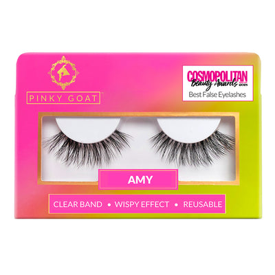 Pinky Goat Lashes - Amy
