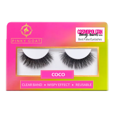 Pinky Goat Lashes - Coco