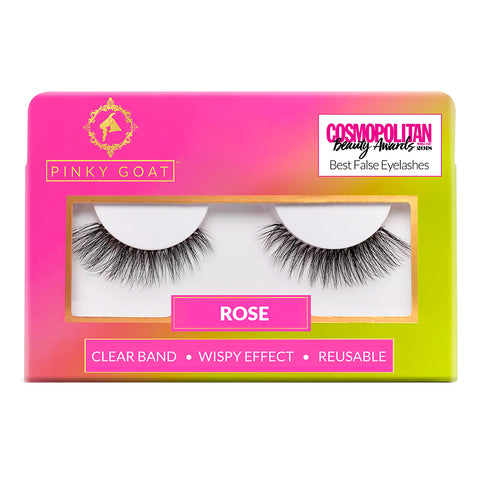 Pinky Goat Lashes - Rose