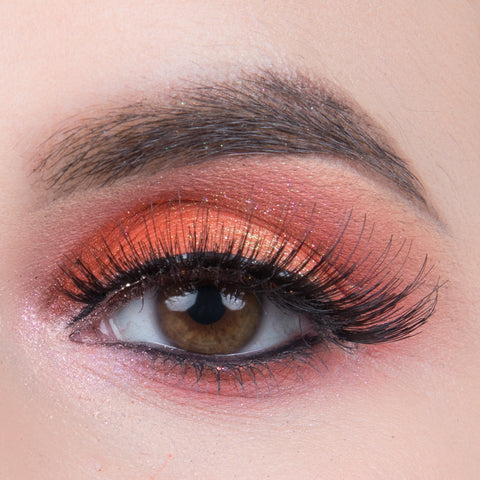 Pinky Goat Natural Lashes - Al Maha (Model Shot 2)