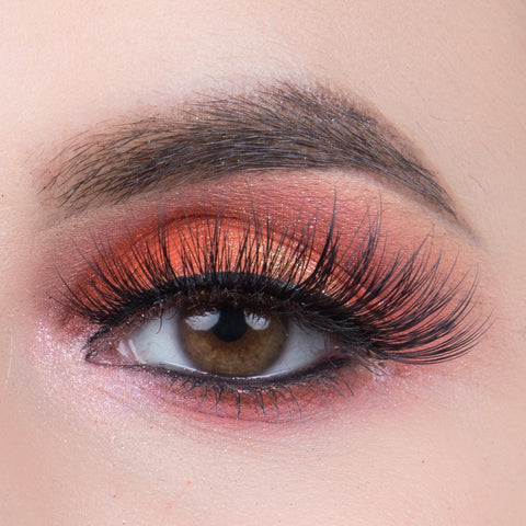 Pinky Goat Glam Collection Lashes - Arwa (Model Shot 2)