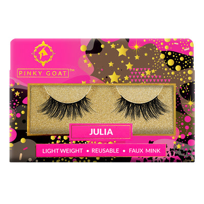 Pinky Goat Natural Lashes - Julia