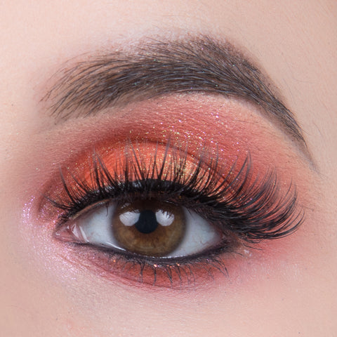 Pinky Goat Glam Collection Lashes - Leila (Model Shot)