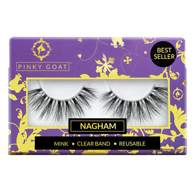Pinky Goat 3D Mink Lashes - Nagham