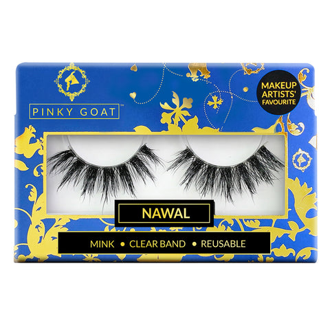Pinky Goat 3D Mink Lashes - Nawal