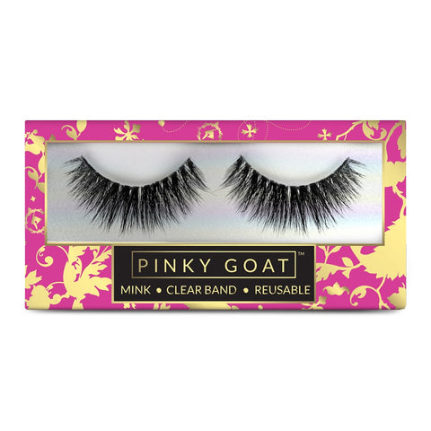 Pinky Goat 3D Mink Lashes - Olfat