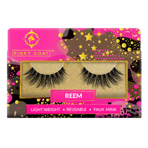 Pinky Goat Faux Mink Lashes - Reem