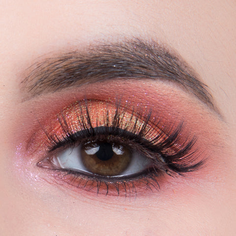 Pinky Goat 3D Silk Collection Lashes - Yasmina (Model Shot)