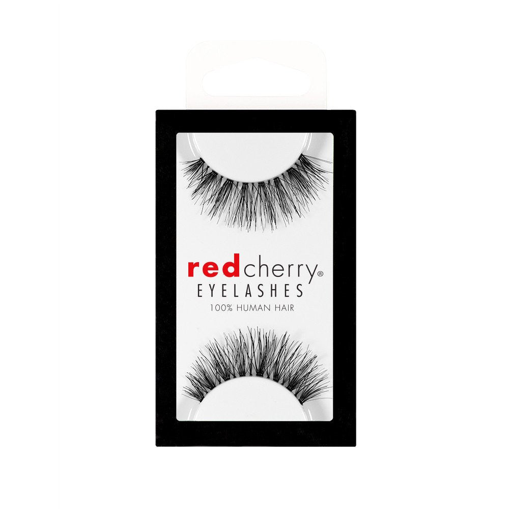 Red Cherry Lashes Style #523 (Sage) Packaging Shot