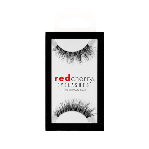 Red Cherry Lashes Style #DW (Demi Wispy) Packaging Shot