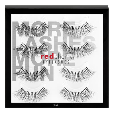 Red Cherry Lashes - #217 Trace Multipack (4 Pairs)