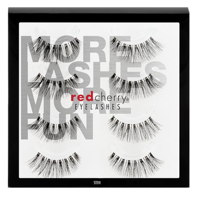 Red Cherry Lashes - #43 Stevi Multipack (4 Pairs)