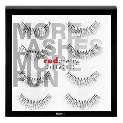 Red Cherry Lashes - #747S Primrose Multipack (4 Pairs)