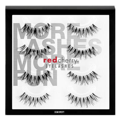 Red Cherry Lashes - #DW Demi Wispy Multipack (4 Pairs)