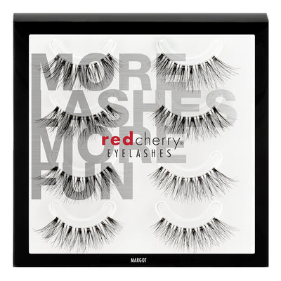 Red Cherry Lashes - Margot Multipack (4 Pairs)