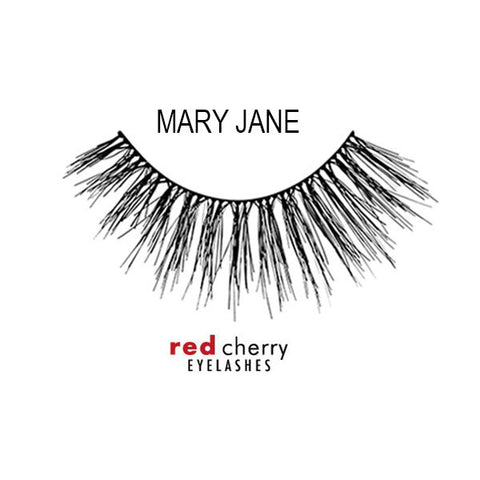 Red Cherry Lashes Style Mary Jane