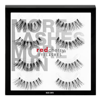 Red Cherry Lashes - Nude Onyx Multipack (4 Pairs)