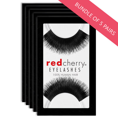 Red Cherry Lashes Style #201 Larou (BUNDLE OF 5 PAIRS)