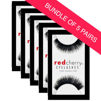 Red Cherry Lashes Style #79 Jewels (BUNDLE OF 5 PAIRS)