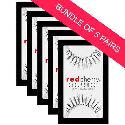 Red Cherry Lashes Style #83 Juno (BUNDLE OF 5 PAIRS)