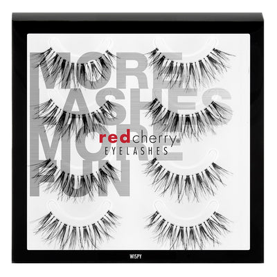 Red Cherry Lashes - #WSP Wispy Multipack (4 Pairs)