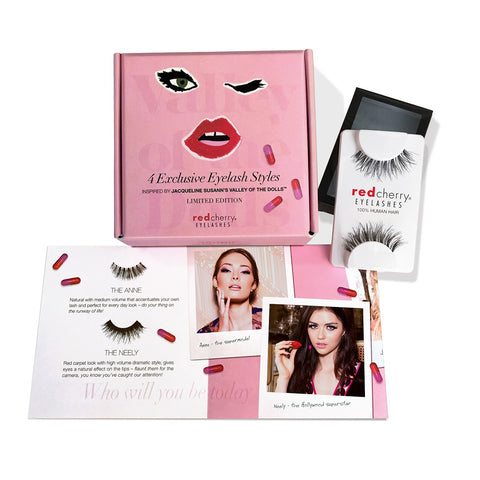 Red Cherry Eyelashes - Valley of the Dolls Contents