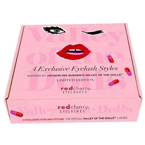 Red Cherry Eyelashes - Valley of the Dolls Packaging