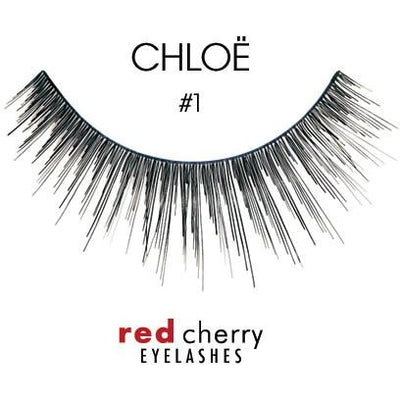 Red Cherry Lashes Style #01 (Chloë)