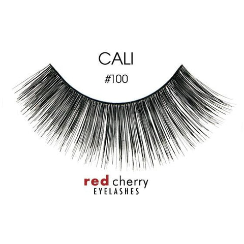 Red Cherry Lashes Style #100 (Cali)