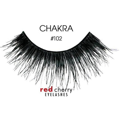 Red Cherry Lashes Style #102 (Chakra)