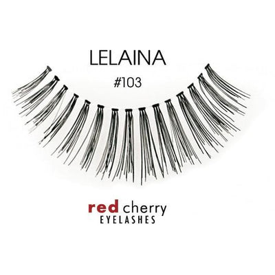 Red Cherry Lashes Style #103 (Lelaina)