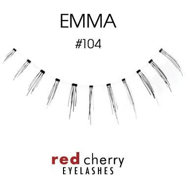 Red Cherry Under Lashes Style #104 (Emma)