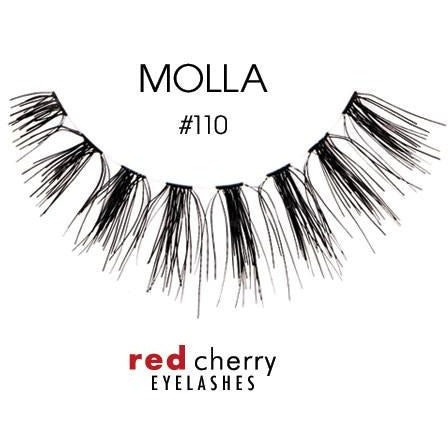 Red Cherry Lashes Style #110 (Molla)