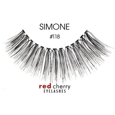 Red Cherry Lashes Style #118 (Simone)