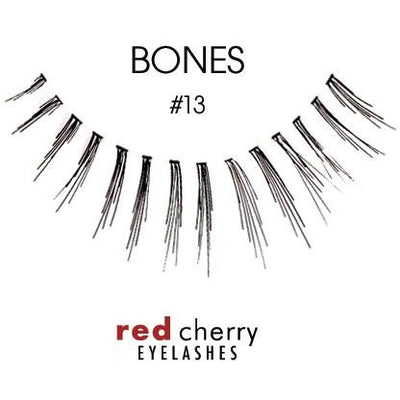 Red Cherry Lashes Style #13 (Bones)