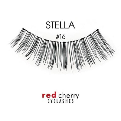Red Cherry Lashes Style #16 (Stella)