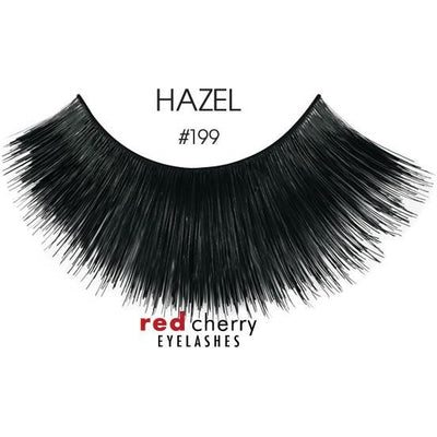 Red Cherry Lashes Style #199 (Hazel)