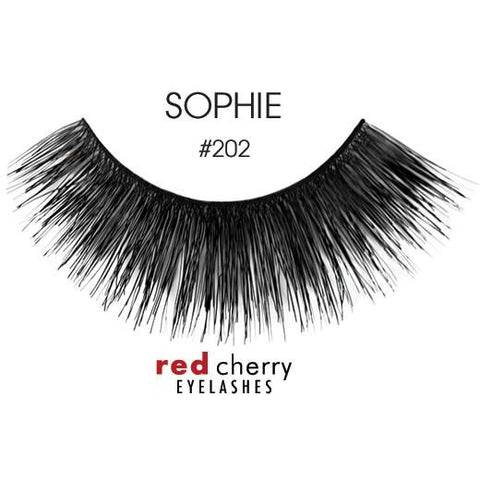 Red Cherry Lashes Style #202 (Sophie)