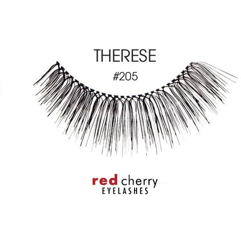 Red Cherry Lashes Style #205 (Therese)