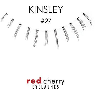 Red Cherry Under Lashes Style #27 (Kinsley)