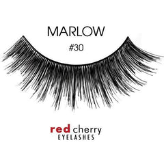Red Cherry Lashes Style #30 (Marlow)