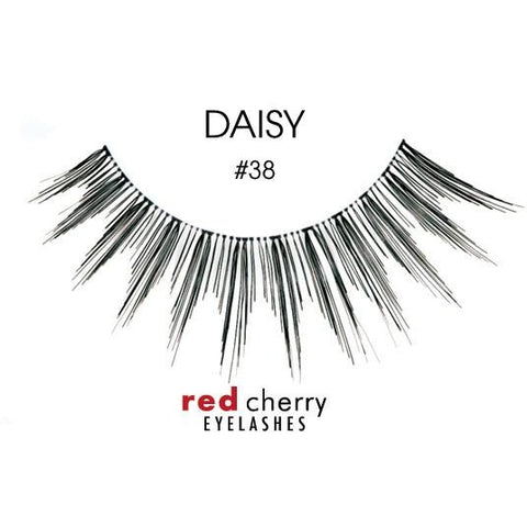 Red Cherry Lashes Style #38 (Daisy)